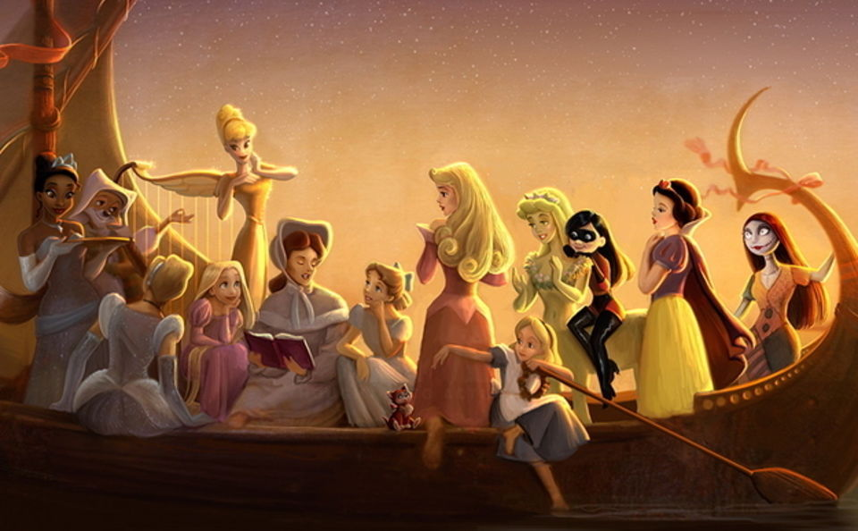 A Nerd S Menagerie Disney Princesses Nerdy Curiosities