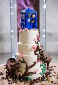 Butter End Dr Who Cake
