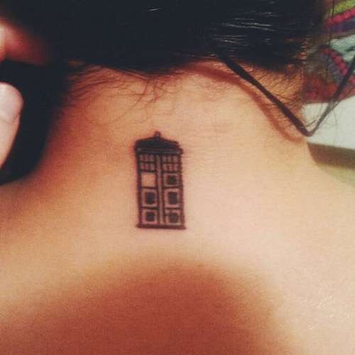 Small Doctor Who Tattoo: TNT Thursdays: Simple Nerdy Tattoos Edition