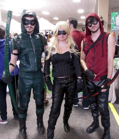 arrow black canary and arsenal