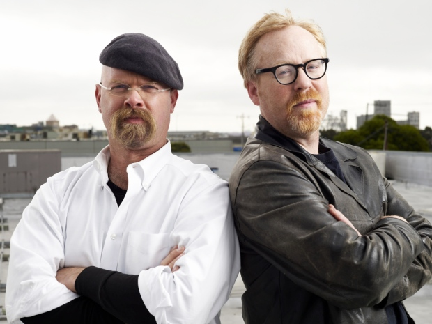 DCI ID: MYTHBUSTERS 5_039 Rights Notes: For Show Promotion Only Photographer: Blair Bunting / Getty Images Credit: Discovery Channel Image Post Date: July 17, 2008 Description: Jamie Hyneman and Adam Savage, hosts of MythBusters, in San Francisco, CA, on August 14, 2007. [Via MerlinFTP Drop]